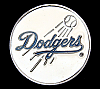 MF02105 *NOS* COOL VINTAGE 1992 ***DODGERS*** BASEBALL SOUVENIR BELT BUCKLE