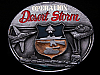 HK29163 VINTAGE 1991 ***OPERATION DESERT STORM*** PEWTER BUCKLE