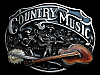 MF25120 **NOS** VINTAGE 1989 COUNTRY MUSIC COMMEMORATIVE BELT BUCKLE