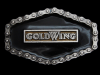 MF25151 **NOS** VINTAGE 1976 GOLDWING (HONDA) MOTORCYCLE BELT BUCKLE