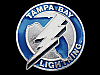 MF29131 VINTAGE 1991 TAMPA BAY LIGHTNING HOCKEY SPORTS BELT BUCKLE