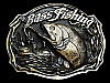 MG05114 VINTAGE 1987 BASS FISHING COMMEMORATIVE BELT BUCKLE