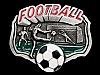 MG05151 COOL VINTAGE 1992 FOOTBALL (SOCCER) SPORTS BELT BUCKLE