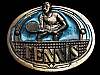 MG05160 VINTAGE 1983 TENNIS COMMEMORATIVE SPORTS BELT BUCKLE