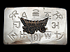 MG07168 VINTAGE 1970s **COVERED WAGON** WESTERN & COWBOY BELT BUCKLE