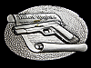 MG09146 VINTAGE 1979 BILL OF RIGHTS 2ND AMENDMENT (GUN) BELT BUCKLE