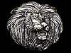 MG09161 **NOS** VERY COOL VINTAGE 1979 LION'S HEAD BELT BUCKLE