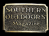 MG13122 **NOS** VINTAGE 1982 SOUTHERN OUTDOORS MAGAZINE BELT BUCKLE
