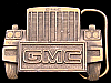 MG28108 VINTAGE 1987 ***GMC TRUCK*** HEAD ON SHOT 18-WHEELER TRUCKER BUCKLE