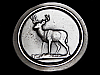 MH01104 REALLY NICE VINTAGE 1977 ***********BIG BUCK DEER*********** BELT BUCKLE
