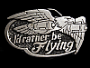 MH01156 *NOS* VERY COOL VINTAGE 1978 *****I'D RATHER BE FLYING***** BELT BUCKLE