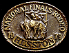 MG22130 GREAT NFR ***1979 NATIONAL FINALS RODEO*** HESSTON COLLECTOR BUCKLE