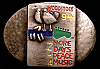MG22135 1994 **WOODSTOCK 94** MUSIC FESTIVAL 2 MORE DAYS OF PEACE & MUSIC BUCKLE