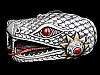MH07148 *NOS* VERY COOL **MECHANIZED SNAKE'S HEAD** FANTASY BELT BUCKLE