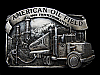 MH15109 VINTAGE 1982 **AMERICAN OIL FIELD** COMMEMORATIVE BELT BUCKLE