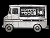 MH21138 VINTAGE 1979 CUT-OUT **MATCO TOOLS TRUCK** BELT BUCKLE