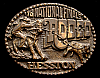 MG30124 USED NFR ***1978 NATIONAL FINALS RODEO*** HESSTON COLLECTOR BUCKLE