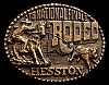 MG30127 GREAT NFR ***1978 NATIONAL FINALS RODEO*** HESSTON COLLECTOR BUCKLE