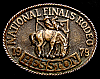 MG30128 USED NFR ***1979 NATIONAL FINALS RODEO*** HESSTON COLLECTOR BUCKLE