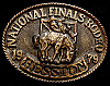 MG30129 USED NFR ***1979 NATIONAL FINALS RODEO*** HESSTON COLLECTOR BUCKLE