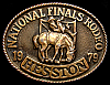 MG30131 GREAT NFR ***1979 NATIONAL FINALS RODEO*** HESSTON COLLECTOR BUCKLE