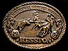 MG30134 GREAT NFR ***1980 NATIONAL FINALS RODEO*** HESSTON COLLECTOR BUCKLE