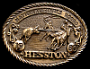 MG30137 USED NFR ***1980 NATIONAL FINALS RODEO*** HESSTON COLLECTOR BUCKLE