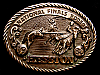 MG30138 USED NFR ***1980 NATIONAL FINALS RODEO*** HESSTON COLLECTOR BUCKLE