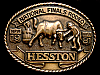 MG30139 GREAT NFR ***1981 NATIONAL FINALS RODEO*** HESSTON COLLECTOR BUCKLE