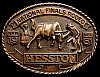 MG30140 GREAT NFR ***1981 NATIONAL FINALS RODEO*** HESSTON COLLECTOR BUCKLE
