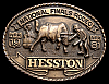 MG30141 NICE NFR ***1981 NATIONAL FINALS RODEO*** HESSTON COLLECTOR BUCKLE