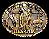 MG30143 GREAT NFR ***1982 NATIONAL FINALS RODEO*** HESSTON COLLECTOR BUCKLE