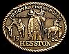 MG30144 NICE NFR ***1982 NATIONAL FINALS RODEO*** HESSTON COLLECTOR BUCKLE