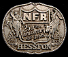 MG30145 USED NFR ***1983 NATIONAL FINALS RODEO*** HESSTON COLLECTOR BUCKLE
