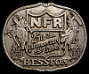 MG30146 USED NFR ***1983 NATIONAL FINALS RODEO*** HESSTON COLLECTOR BUCKLE