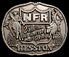 MG30148 GREAT NFR ***1983 NATIONAL FINALS RODEO*** HESSTON COLLECTOR BUCKLE