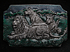 MI17103 COOL VINTAGE 1990 **FAMILY OF LIONS** BELT BUCKLE