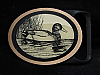 MI25147 *NOS* VINTAGE 1970s **DUCK** TECH-ETHER GUILD SOLID BRASS BELT BUCKLE