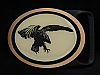 MI25149 *NOS* VINTAGE 1970s **EAGLE** TECH-ETHER GUILD SOLID BRASS BELT BUCKLE