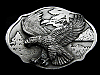 MJ09105 REALLY NICE VINTAGE 1989 **BALD EAGLE** BELT BUCKLE