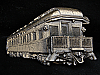 MJ17116 VINTAGE 1980 CUT-OUT **PULLMAN CAR** RAILROAD BELT BUCKLE