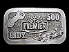 MJ17131 **PREMIER INDUSTRIAL CORPORATION INDY 500** RACING BELT BUCKLE
