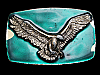 NA03110 VINTAGE 1978 **BALD EAGLE SPREAD WINGS** BELT BUCKLE