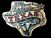 NA05146 VINTAGE 1980 **LONE STAR TEXAS** SOUVENIR BELT BUCKLE