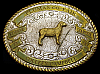 NA06142 VINTAGE 1990 CRUMRINE ***CHAMPION*** SHEEP LAMB FAIR SHOW TROPHY BUCKLE