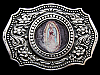 NA25114 REALLY NICE **OUR LADY OF GUADALUPE** RELIGIOUS BELT BUCKLE