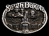 NA27108 VINTAGE 1983 **SOUTH DAKOTA** SOUVENIR BELT BUCKLE