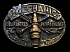 NA29149 VINTAGE 1987 **MECHANIC GUARANTED PERFORMANCE** BELT BUCKLE