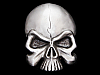 NB01120 *NOS* VERY COOL CUT-OUT **EVIL SKULL** FANTASY BELT BUCKLE