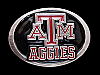 NB01155 *NOS* VINTAGE 1992 **TEXAS A&M AGGIES** BELT BUCKLE